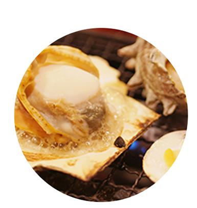 焼き牡蠣「冨士丸」メニュー